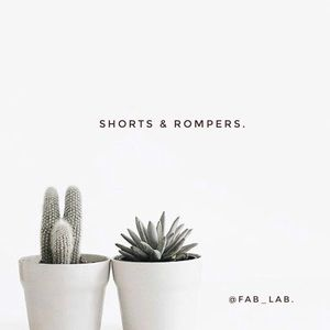 Other - Shorts and Rompers 